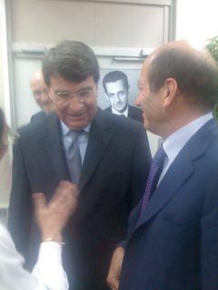 Xavier Darcos et Michel Herbillon député-Maire de Maisons-Alfort.