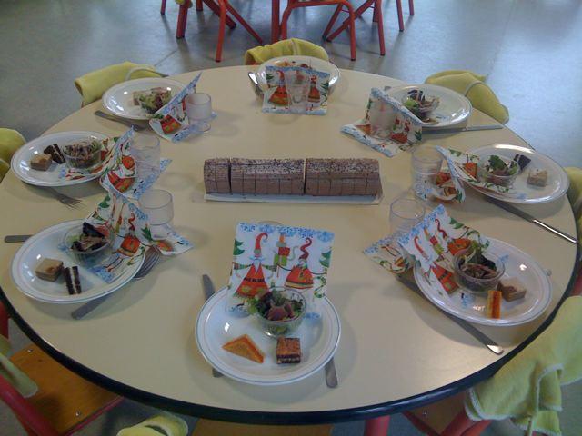 No l pour les l ves de maternelle jf le helloco - Repas de noel enfant ...