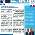 Réunion de compte-rendu de mandat de Sylvain Berrios