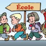 Matinée du 13 octobre, la Ville va prendre en charge les élèves que l'Education Nationale laisse dans la rue.