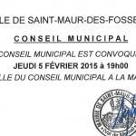 Conseil municipal jeudi 5 février